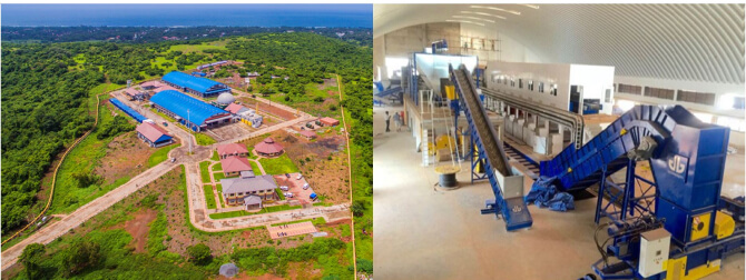 Goa Waste Management Facility built by Anaergia in India under operation since mid-2016